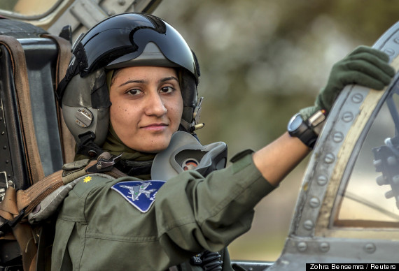 First female pilot of Pakistan