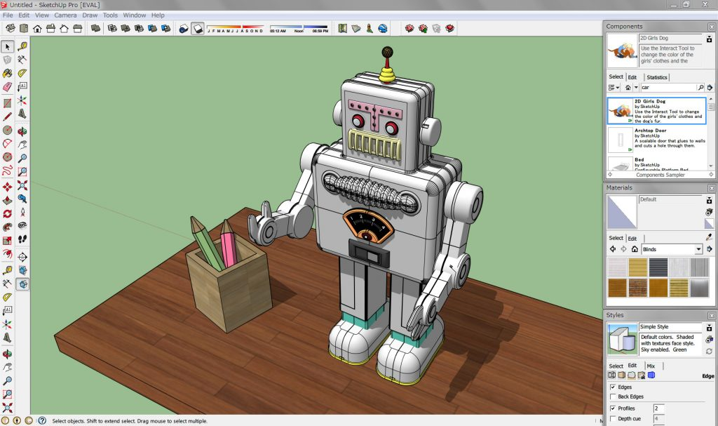 SketchUp Pro: Powerful 3D drawing application