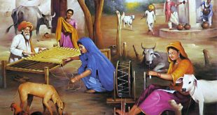 Villagers Women Painting