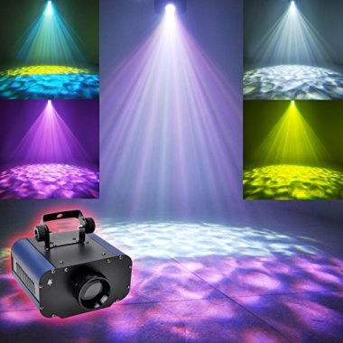 Ocean Wave Red, Blue & Green LED Light Projector Night Light & MP3, iPhone Speaker