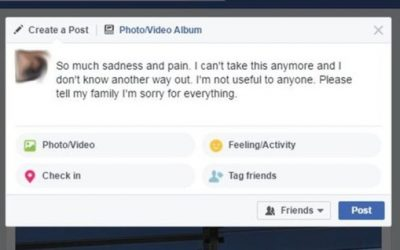 Facebook will be able to detect suicidal people using artificial intelligence