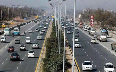 Blockage of Islamabad Highway
